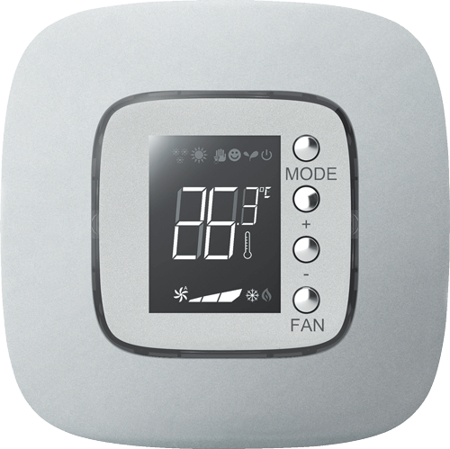 Display thermostat bus